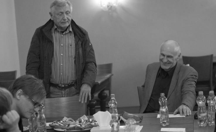 první čtená zkouška (s Martinem Hilským) foto: Viktor Kronbauer, zdroj: Agentura Schok