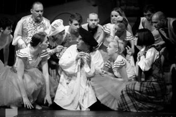Maškaráda čili Fantom Opery - fotografie