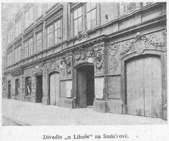 6_V domě U Libuše na tehdejší Kinského třídě to kdysi všechno začalo_foto archiv Švandova divadla