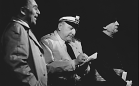Zdeněk Jelínek, Jaroslav Cmíral, Otto Budín / foto: Vilém Sochůrek (Divadelní ústav)