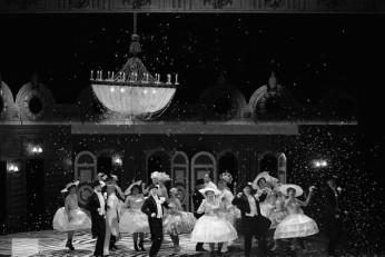 Ples v opeře - fotografie